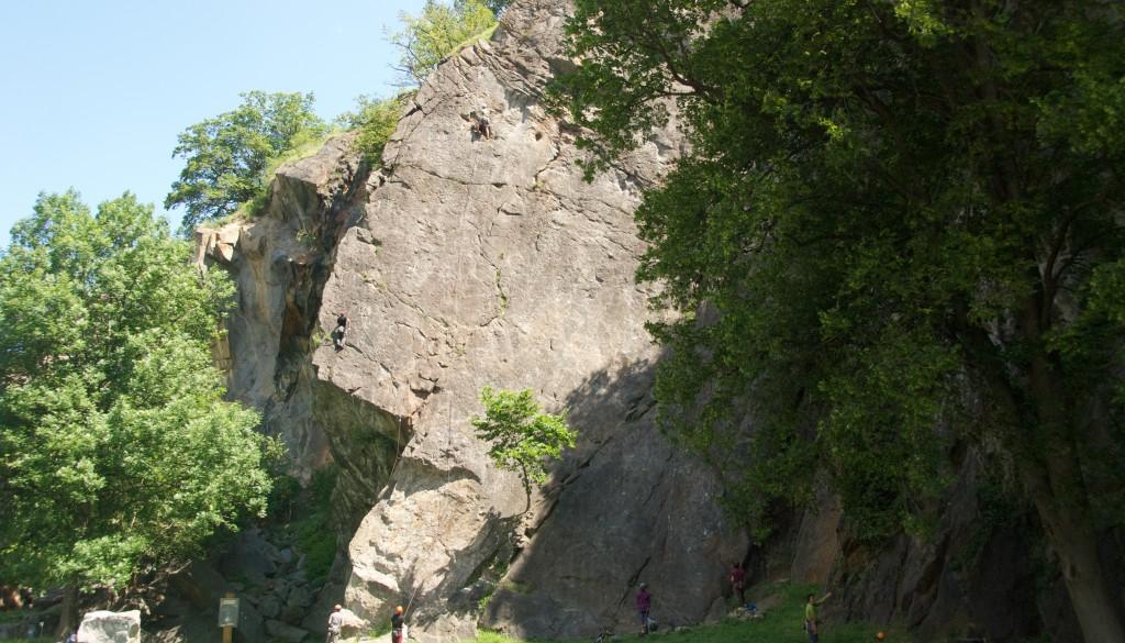 Dorénaz – Klettergarten