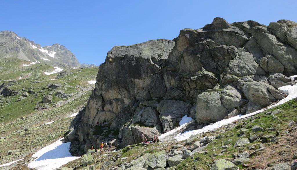 Flüelapass – Klettergarten