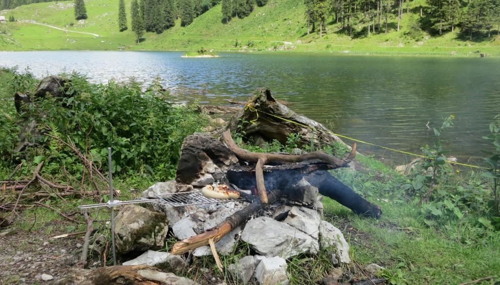 Grillieren am Talalpsee