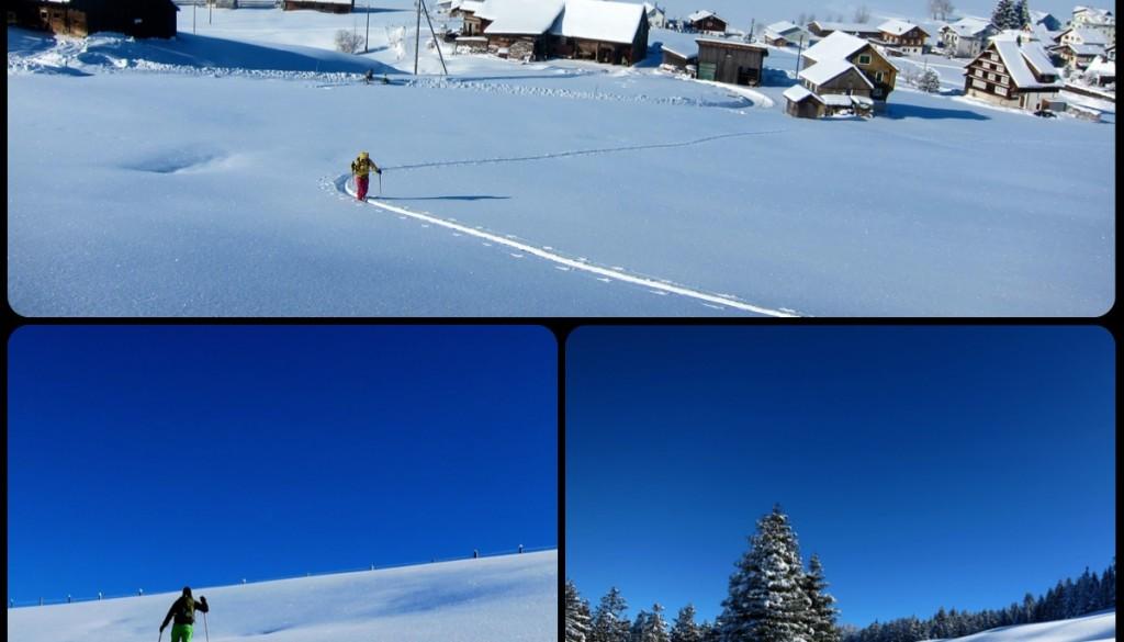 Sihltal – Skiwanderung