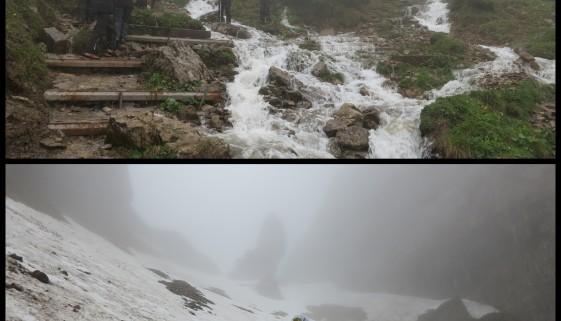 Zwei Tage im Alpstein – Wandern bei Regen und Nebel