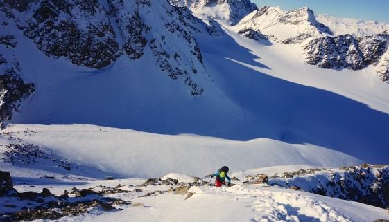 Piz Buin Grond – Kyuka im Gipfelglück