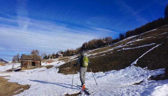 Point du Tsaté – Val d'Hérens