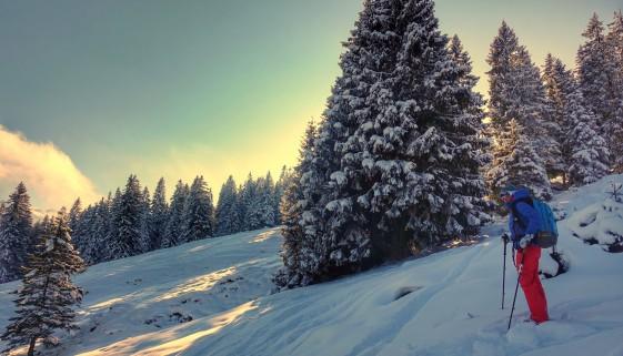 Hüeneri – Skitour